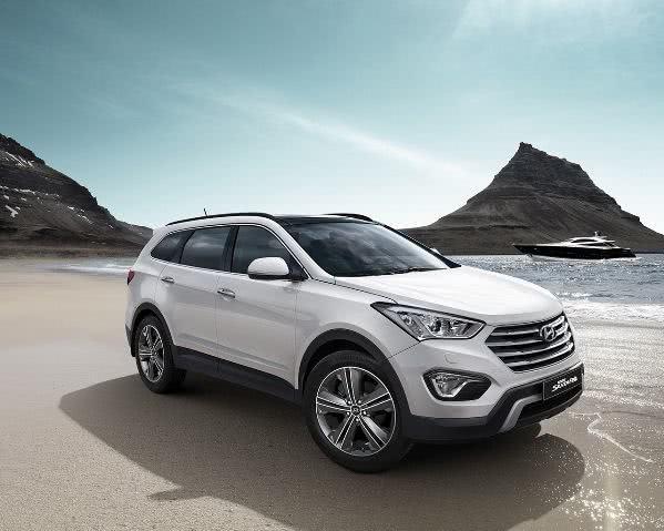 novo-hyundai-grand-santa-fe Hyundai Grand Santa Fe - Preço, Fotos 2017 2018