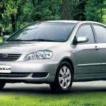 Recall Toyota Corolla