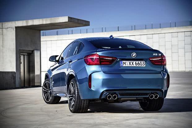 BMW X6M consumo