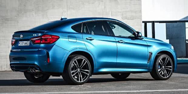 BMW X6M itens de série