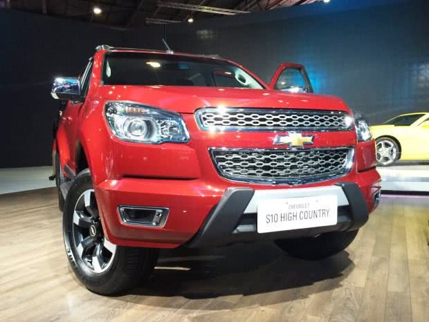 Chevrolet-S10-High-Country-9 Chevrolet S10 High Country - Preço, Fotos 2017 2018