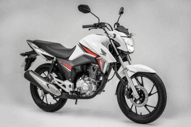 Honda-CG-160 Honda CG 160 - Preço, Fotos 2017 2018