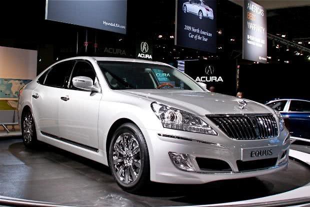 Hyundai Equus preco