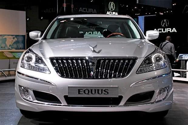 Hyundai Equus versoes