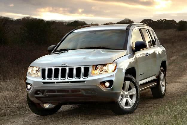 Jeep Compass versoes
