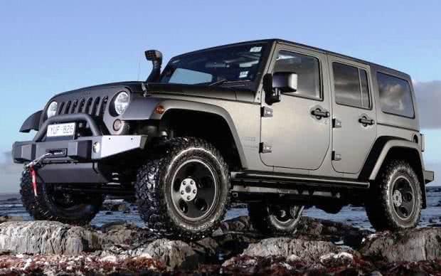 Jeep Wrangler versoes