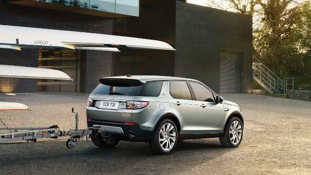 Land Rover Discovery Sport lancamento