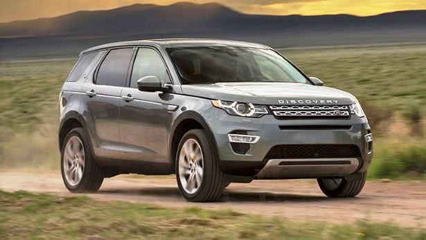Land Rover Discovery Sport versoes