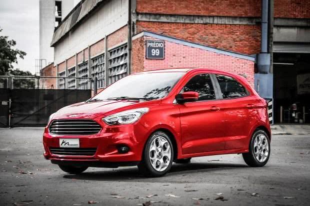 Novo-Ford-Ka-consumo Novo Ford Ka - Itens de Série, Preço, Fotos 2019