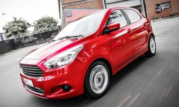 Novo Ford Ka-consumo