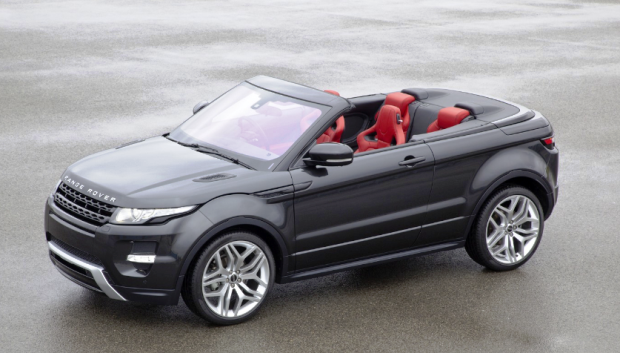 Range Rover Evoque Conversível versoes