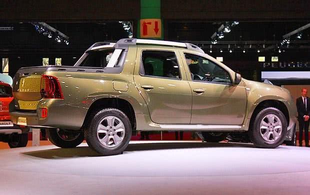 Renault Duster Oroch consumo