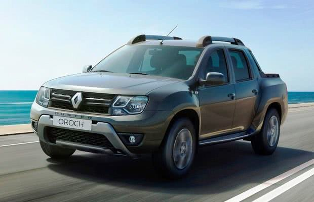 Renault Duster Oroch versoes