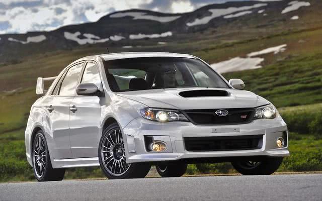 Subaru WRX consumo