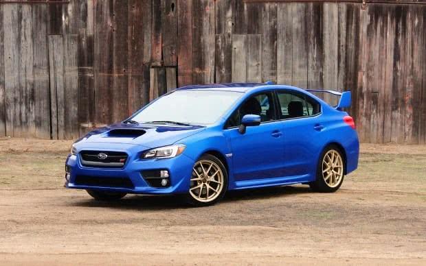 Subaru WRX ficha tecnica