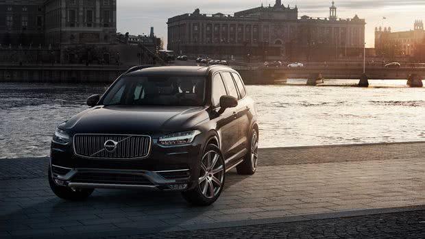 Volvo-XC90 Volvo XC90 - Preço, Fotos 2019