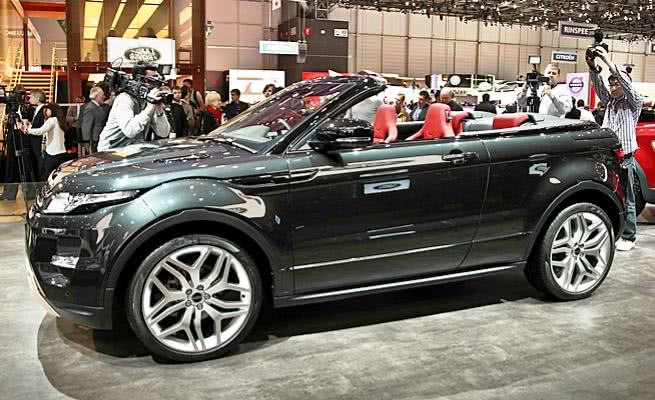 consumo Range Rover Evoque Conversível