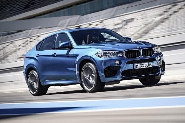 itens BMW X6M