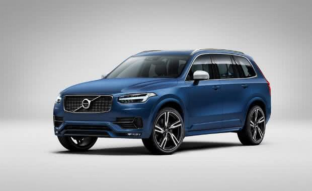 lancamento-Volvo-XC90 Volvo XC90 - Preço, Fotos 2019