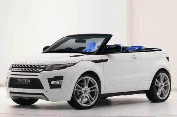 preco Range Rover Evoque Conversível