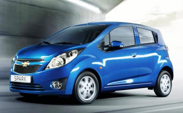 versoes Chevrolet Spark