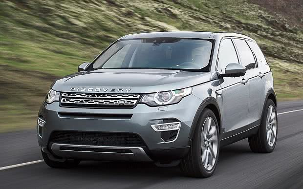 versoes Land Rover Discovery Sport
