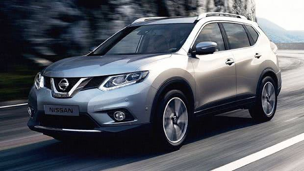 versoes Nissan X-Trail