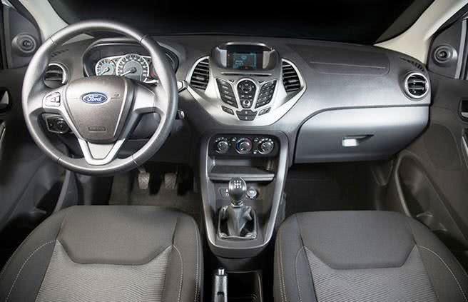 novo-ford-ka-sedan-consumo Novo Ford Ka Sedan - Itens de Série, Preço, Fotos 2017 2018
