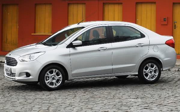 novo-ford-ka-sedan-fotos Novo Ford Ka Sedan - Itens de Série, Preço, Fotos 2017 2018