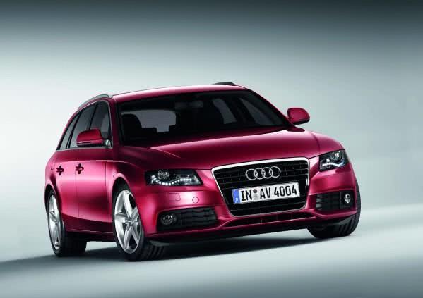 Audi A4 Avant /Standaufnahme