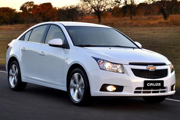 Chevrolet Cruze 2012. (9/12/2011)  (Brasil)
