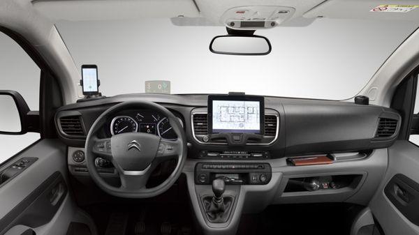 citroen-jumpy-furgao-interior Citroën Furgão Jumpy - Ficha Técnica, Preço, Versões, Consumo 2017 2018