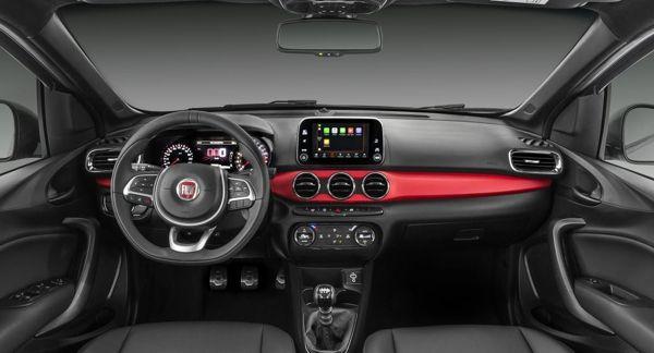 fiat-argo-interior Novo Fiat Argo - Ficha Técnica, Preço, Versões, Consumo 2019