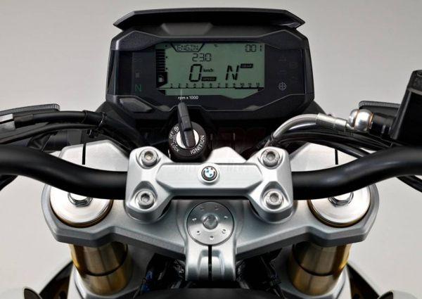 painel-bmw-g-310 BMW G 310 R - Preço, Fotos, Ficha Técnica 2019