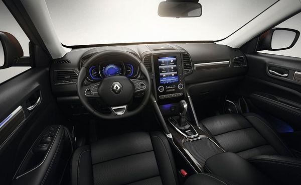 renault-koleos-interior Renault Koleos - Preço, Ficha Técnica, Fotos 2019