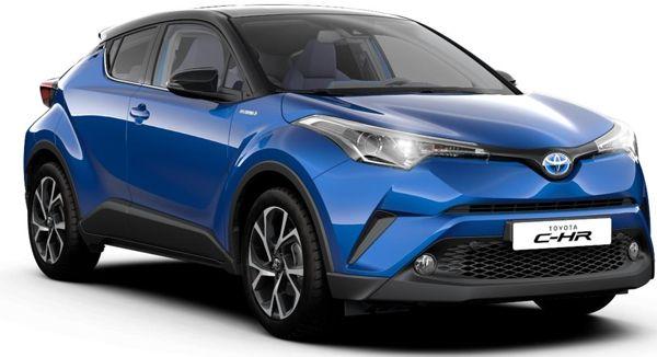 chr Toyota CHR - Preço, Ficha Técnica 2019