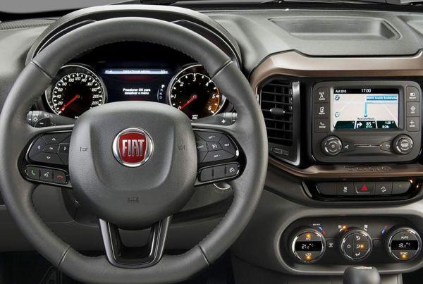 fiat-toro-freedom-painel Fiat Toro Diesel 4x4 - Preço, Ficha Técnica, Consumo 2019