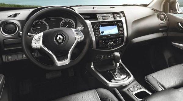 interior-renault-alaskan Renault Alaskan - Preço, Ficha Técnica, Consumo 2019