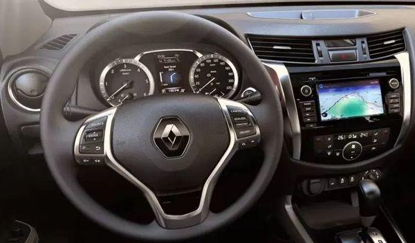 painel-renault-alaskan Renault Alaskan - Preço, Ficha Técnica, Consumo 2019
