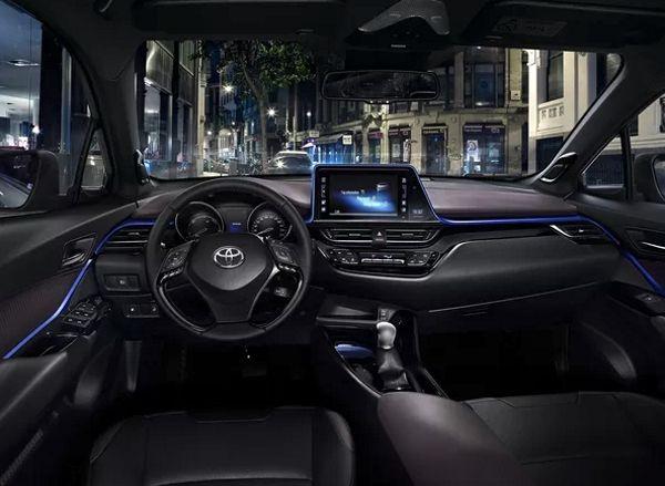 toyota-chr-interior Toyota CHR - Preço, Ficha Técnica 2019