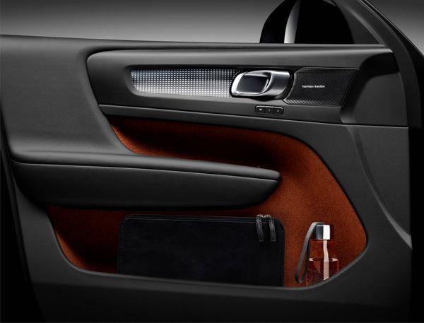 acabamento-volvo-xc40 Volvo XC40 - Preço, Ficha Técnica, Versões, Consumo 2019