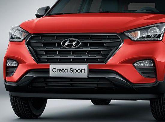 frente-hyundai-creta-sport Hyundai Creta Sport – Preço, Ficha Técnica 2019
