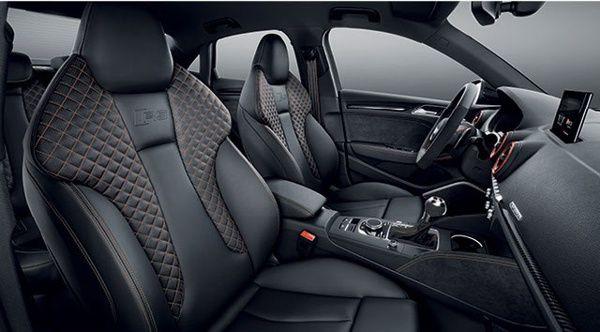 interior-audi-rs3-sedan Audi RS3 Sedan - Preço, Ficha Técnica, Versões, Consumo 2019