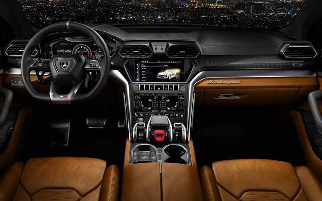 interior-lamborghini-urus Lamborghini Urus - Preço, Ficha Técnica, Versões, Consumo 2019