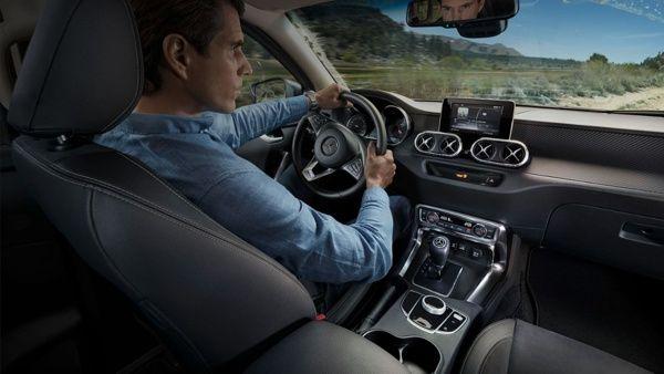 interior-mercedes-classe-x Mercedes Classe X – Preço, Ficha Técnica, Versões, Consumo 2019