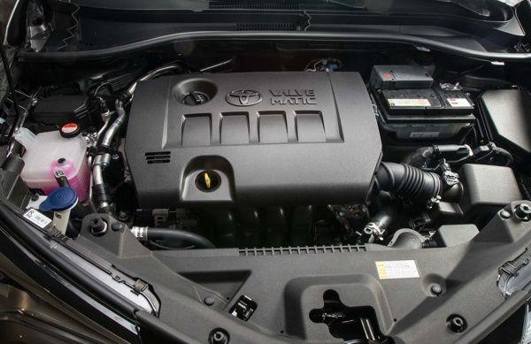motor-toyota-c-hr Toyota C-HR - Preço, Ficha Técnica, Versões, Consumo 2019