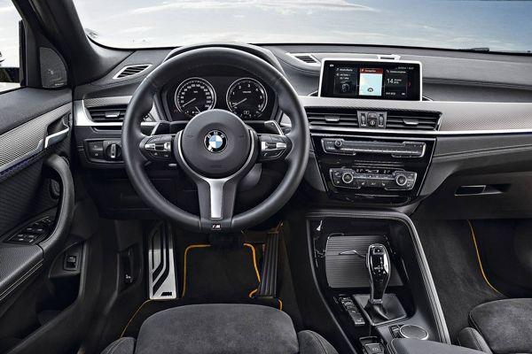 painel-bmw-x2 BMW X2 - Preço, Ficha Técnica, Versões, Consumo 2019