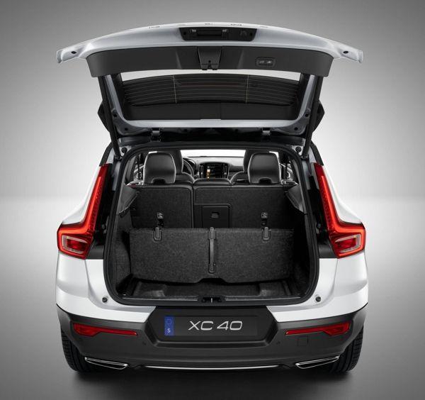 porta-malas-volvo-xc40 Volvo XC40 - Preço, Ficha Técnica, Versões, Consumo 2019
