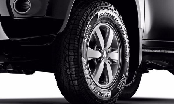 rodas-mitsubishi-l200 Nova Mitsubishi L200 - Itens de Série, Preço, Fotos 2019