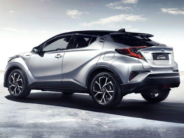 traseira-toyota-c-hr Toyota C-HR - Preço, Ficha Técnica, Versões, Consumo 2019